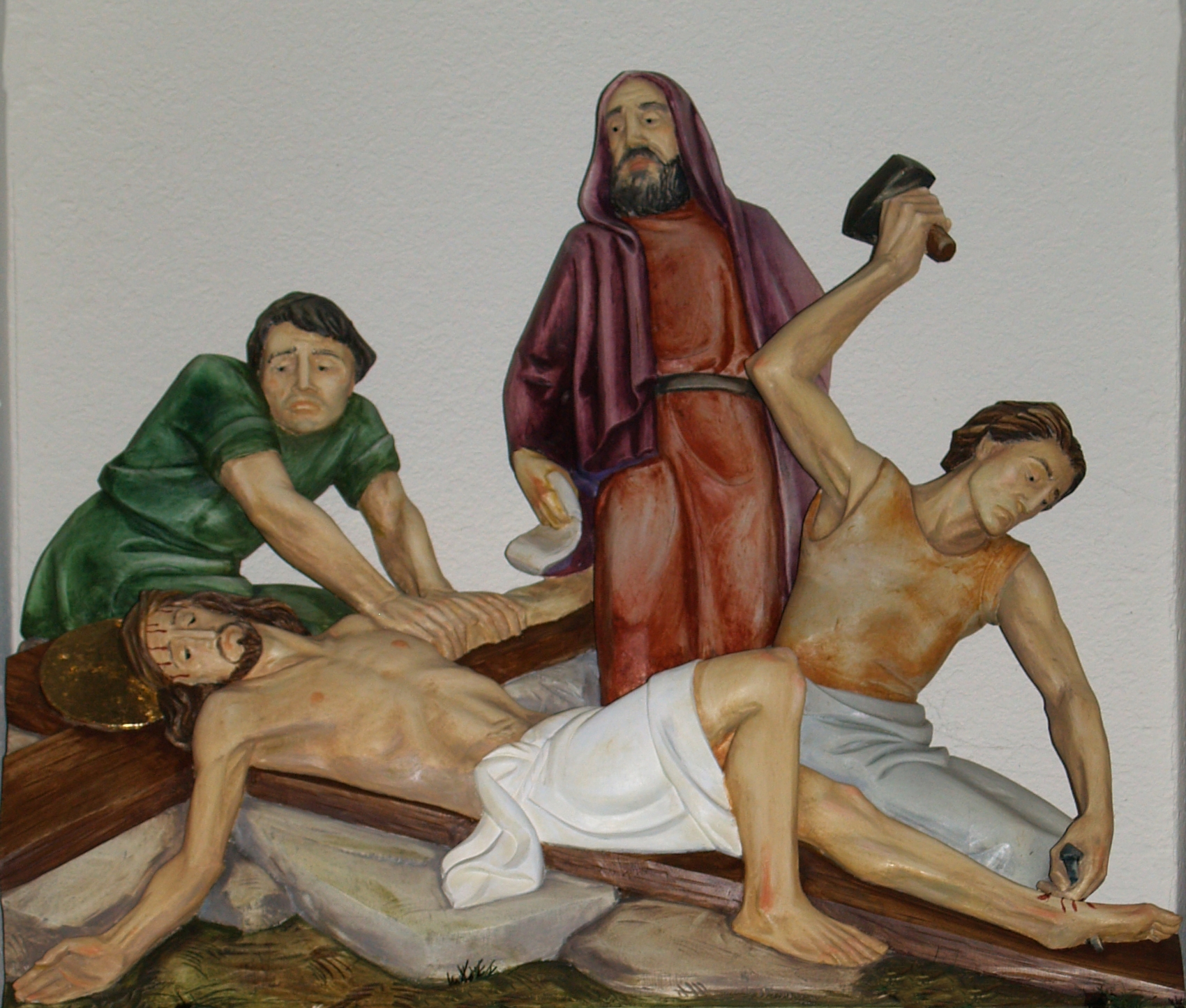File:Jesus is nailed to the Cross 004.jpg - The Work of God\'s Children