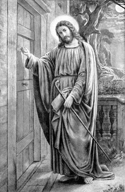 File Jesus Knocks At The Door Jpg The Work Of God S Children