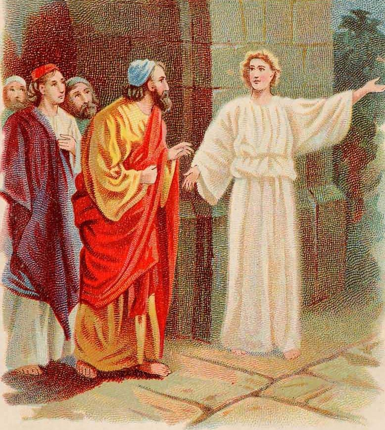 acts 5 apostles in prison for kids
