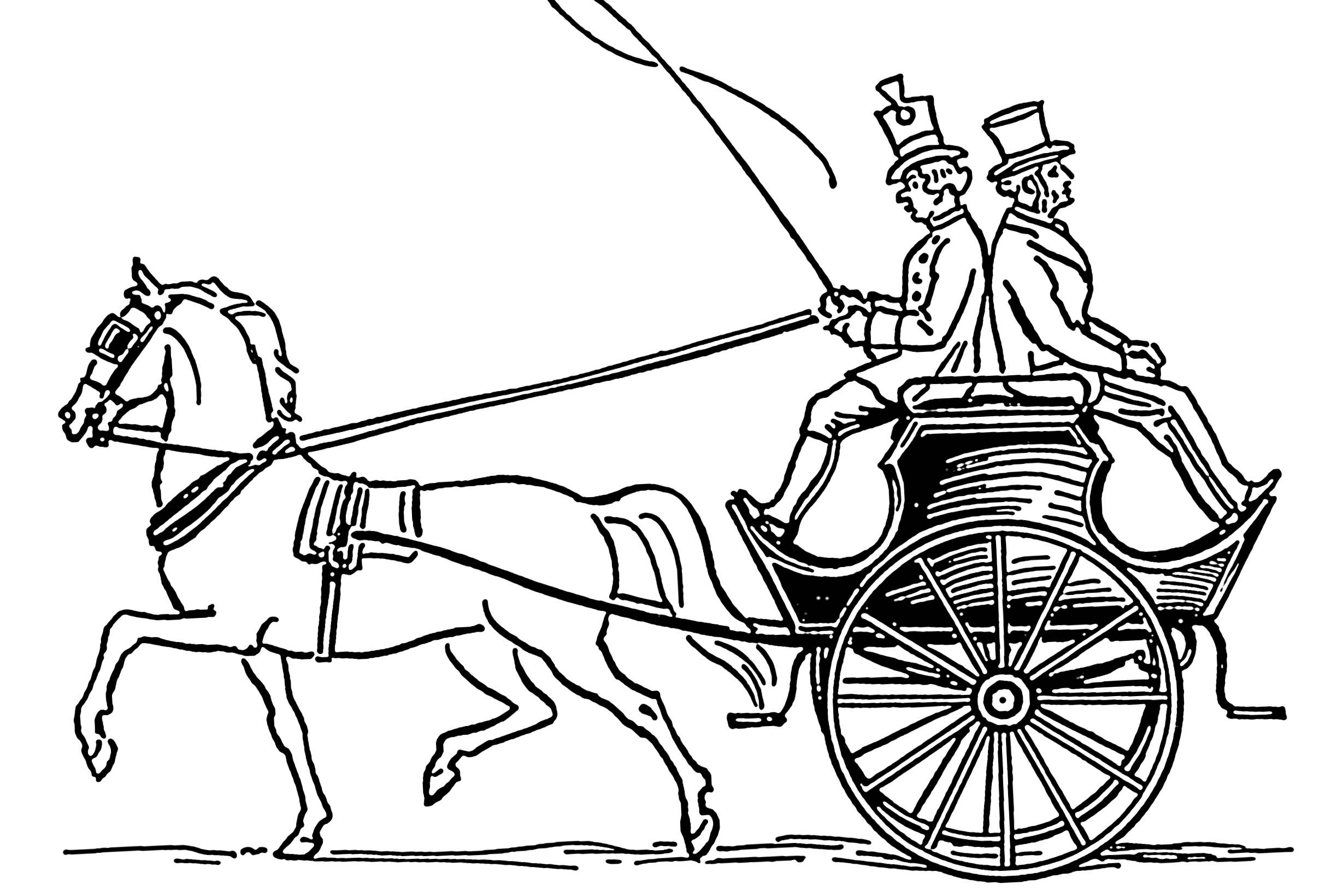 file dogcart carriage 001 png