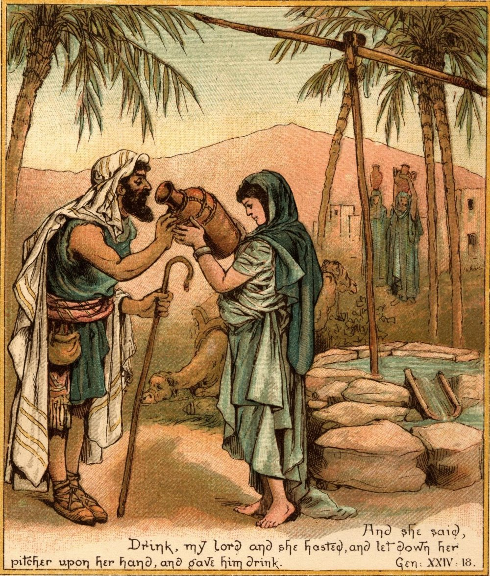 File Abraham Sends Eliezer To Find Isaccs Wife Jpg The