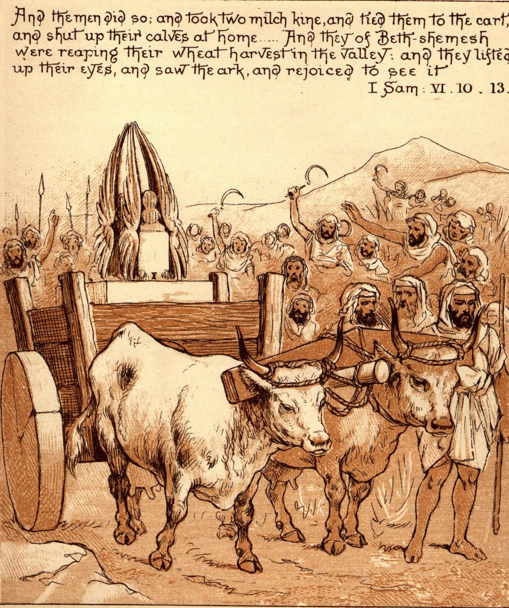 Beth Shemesh Ark Of Covenant: File:Ark Comes To Beth-shemesh.jpg