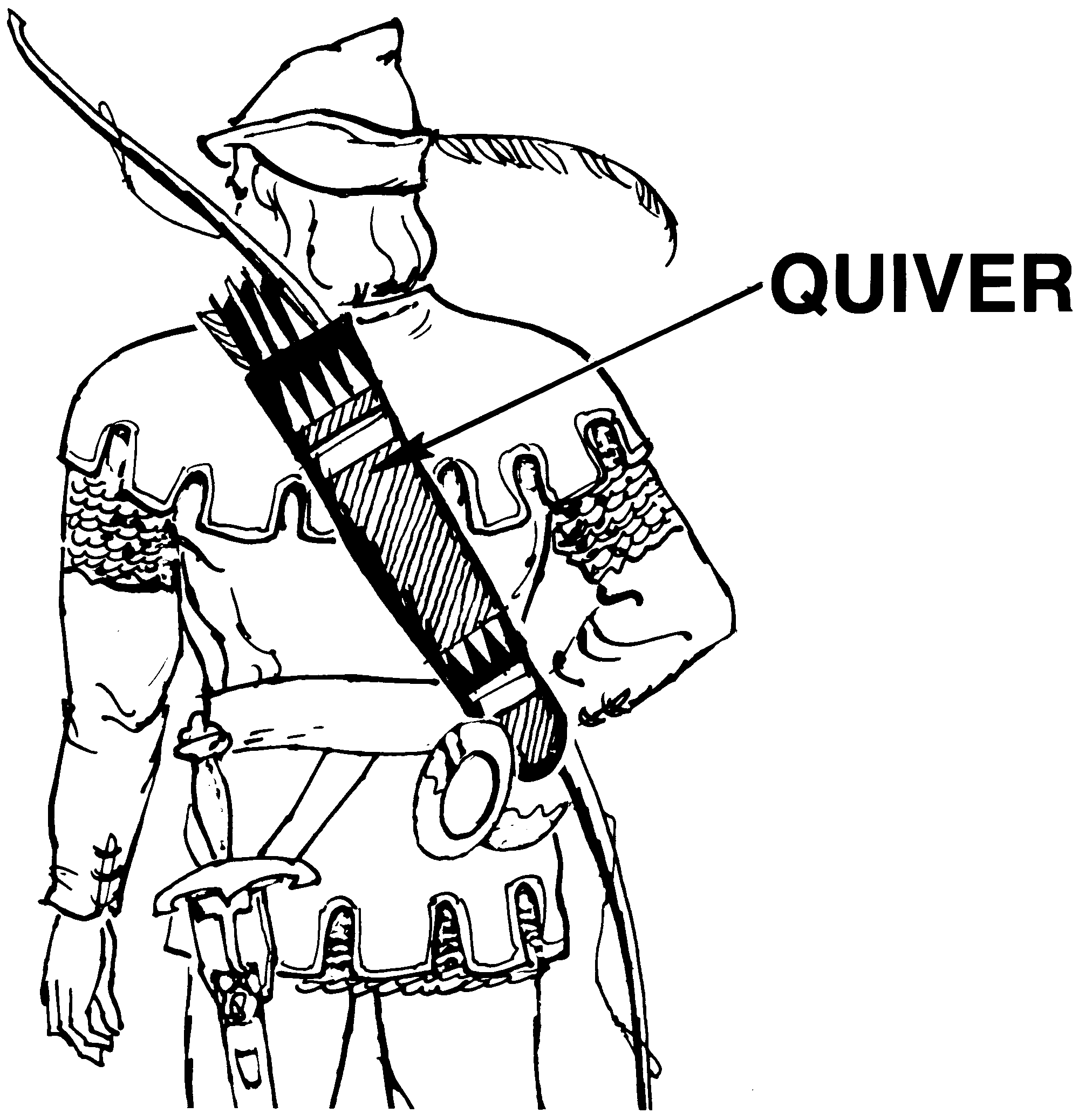 Coloring pages for quiver - File Quiver Psf Png