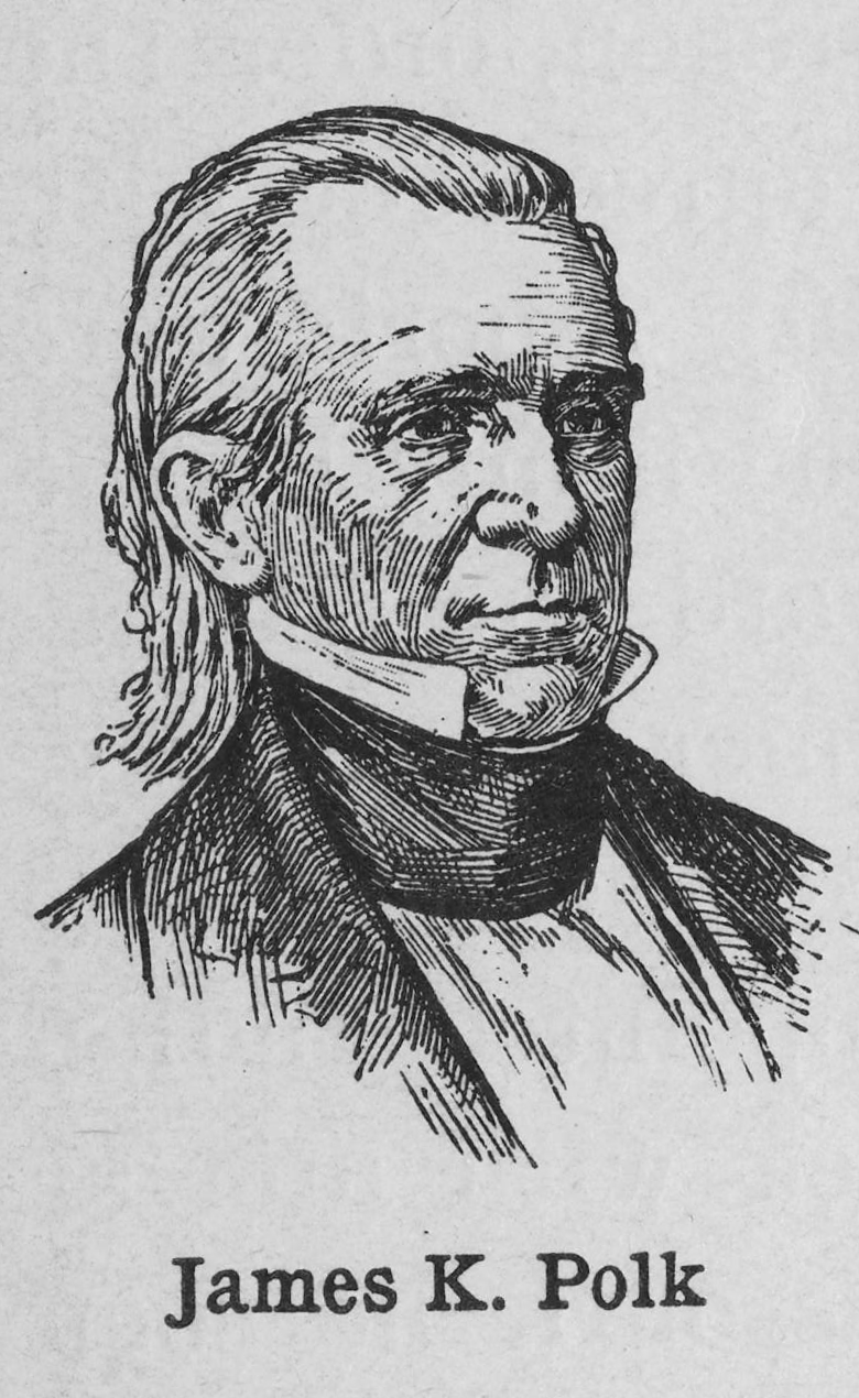 james k polk coloring pages - photo#26