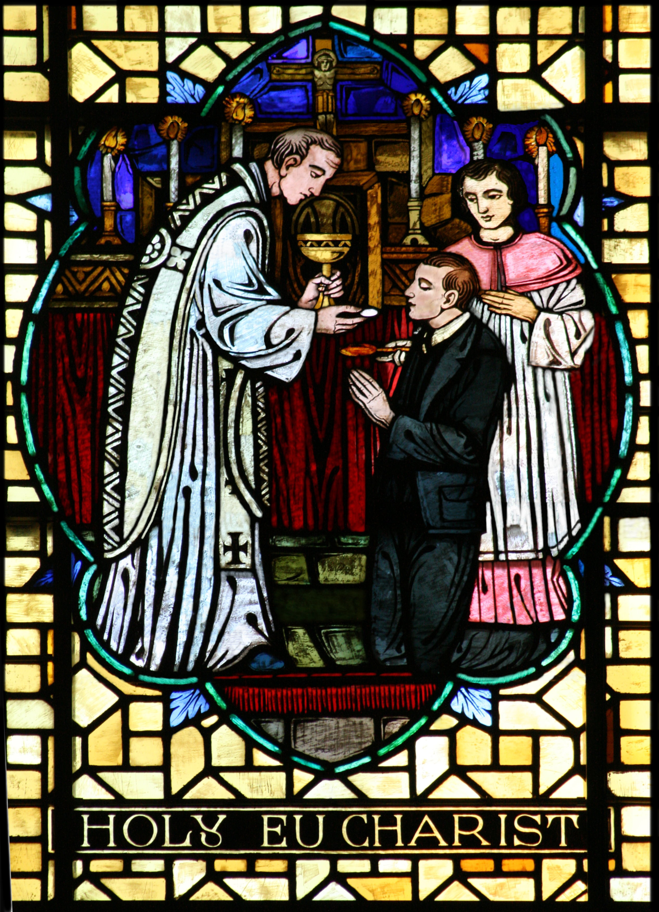 File:Sacrament of the Holy Eucharist 001.jpg - The Work of ...