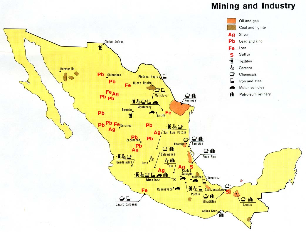 Mr. Silva-Brown's Class Blog: Land and Resources in Mexico