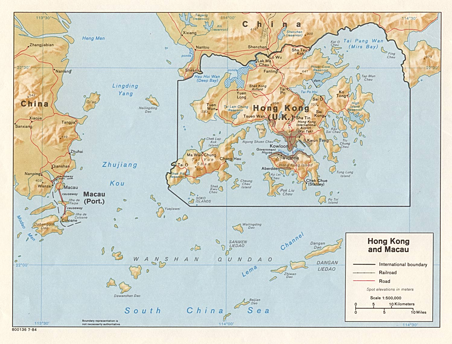 File:Hong Kong and Macau Relief Map 1984.jpg - The Work of ...