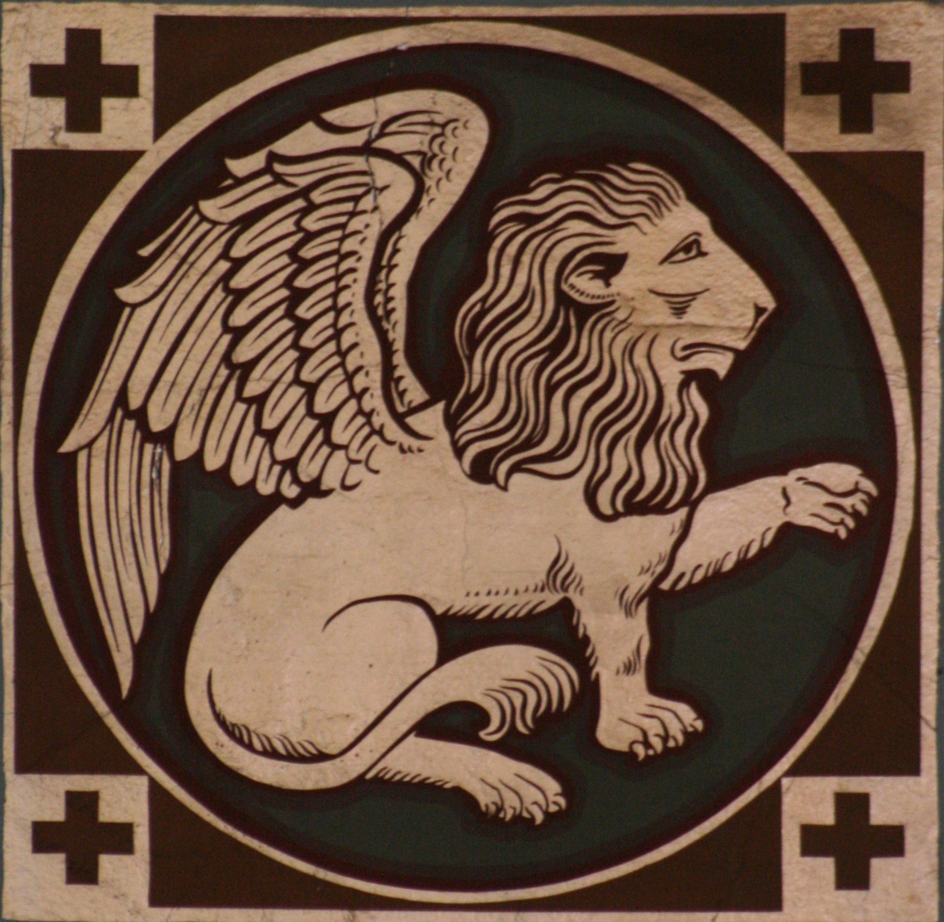 56 Winged Lion Symbol Of Mark Gospel Of Lion Gospel Winged Symbol Mark