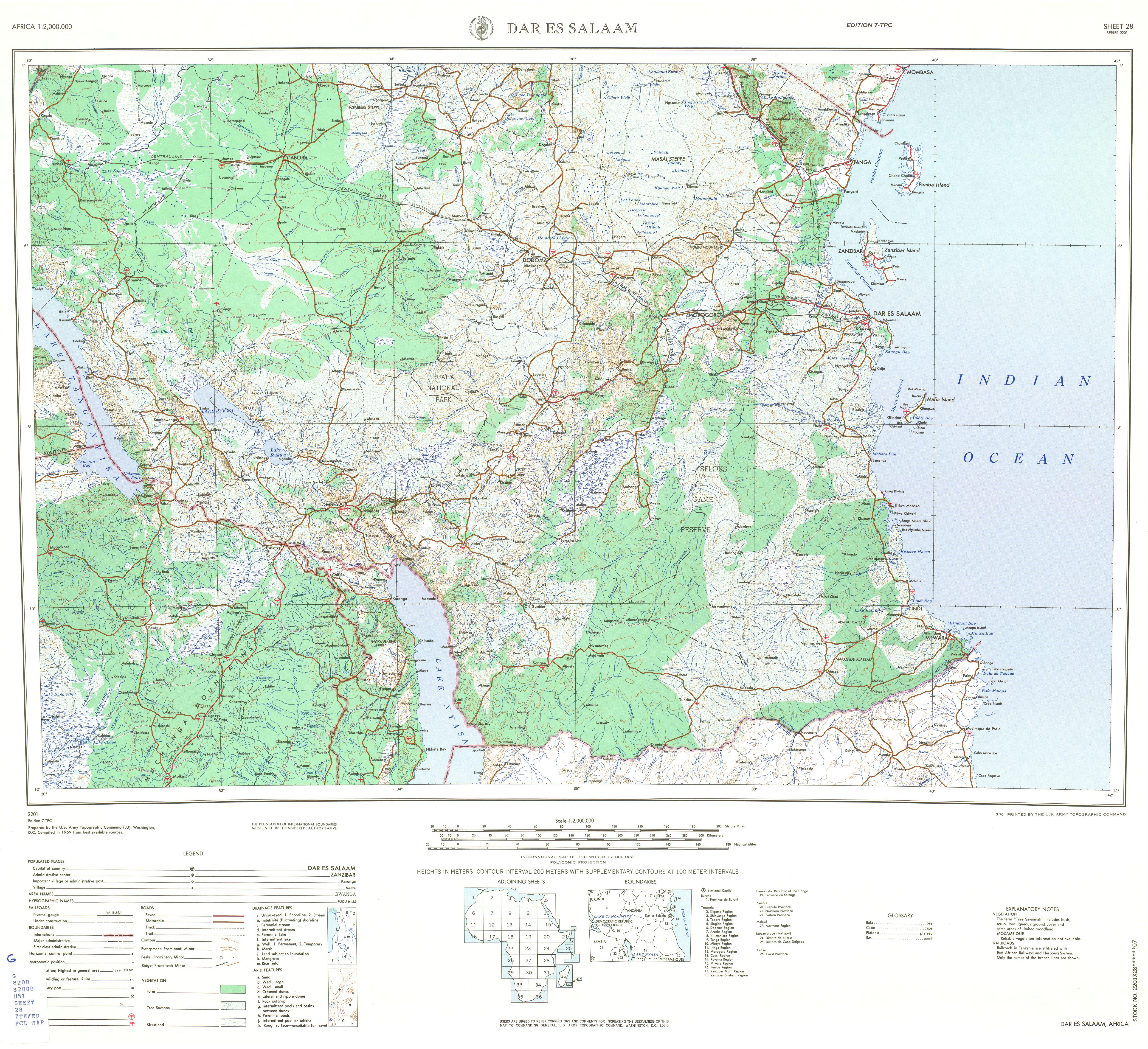 FileDar Es Salaam Tanzania Map 001jpg The Work of Gods Children
