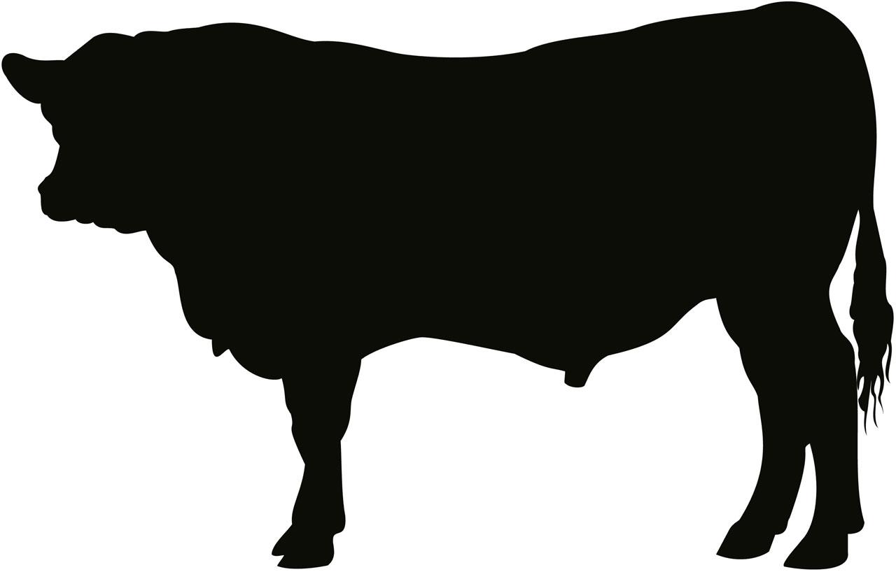 FileAngus Bull Silhouette 001