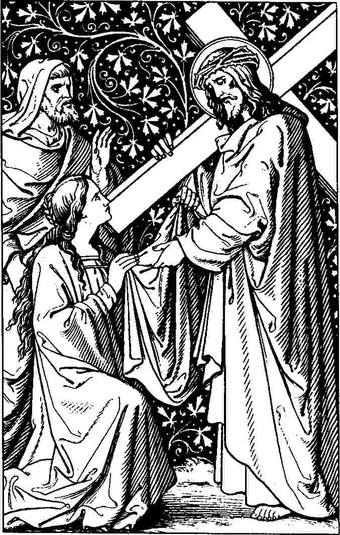 Line Drawing Jesus Face : File station veronica wipes the face of jesus g