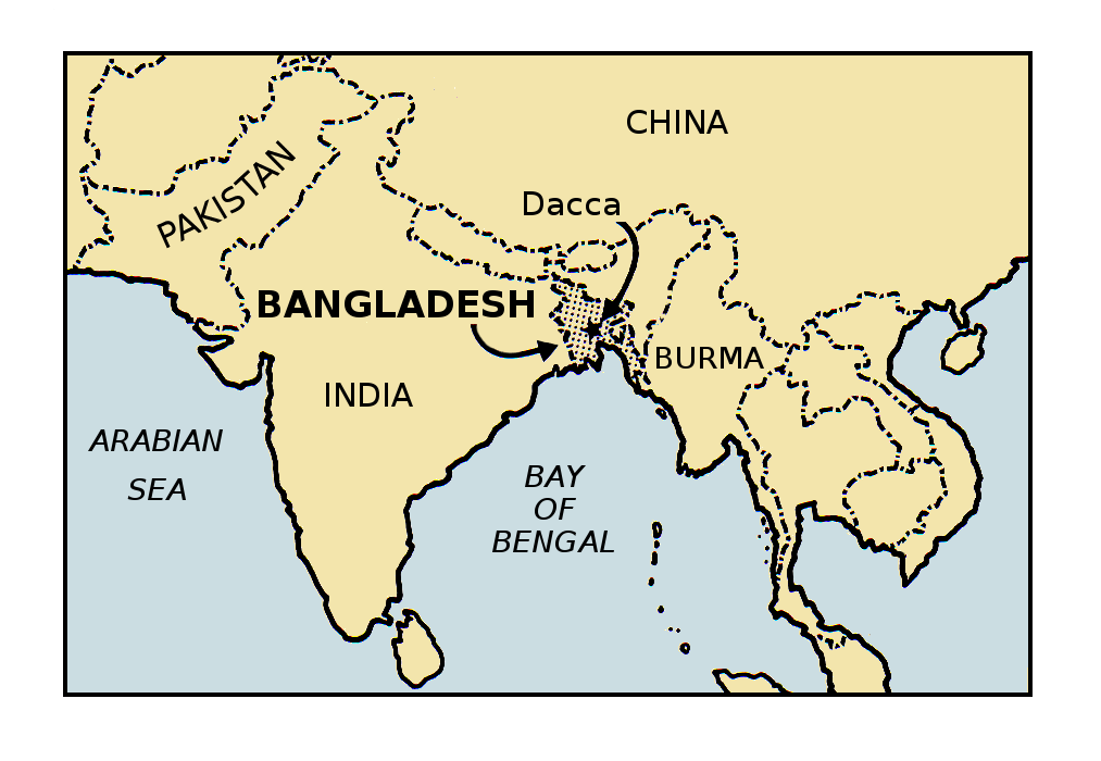 FileBangladesh colored Map 002png The Work of Gods Children