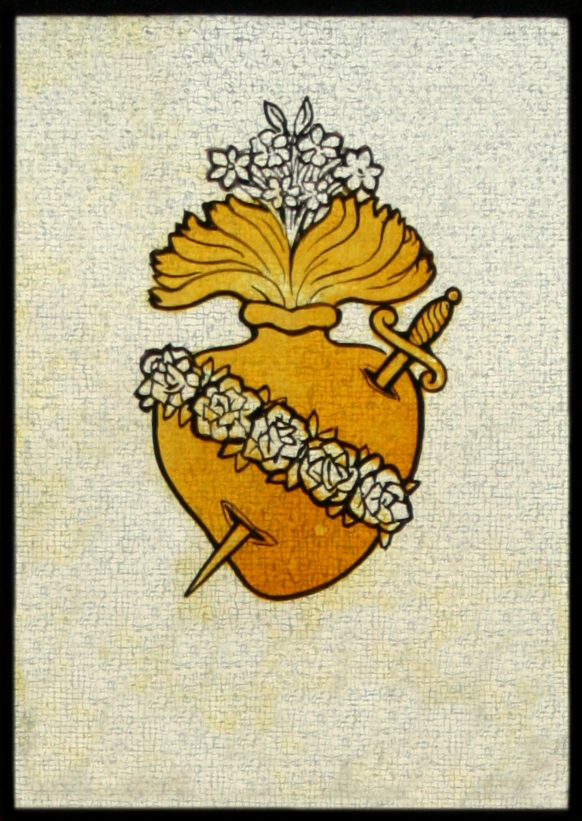 immaculate heart of mary symbol
