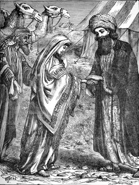 File Rebekah Meets Isaac Genesis 24 64 67 Jpg The Work