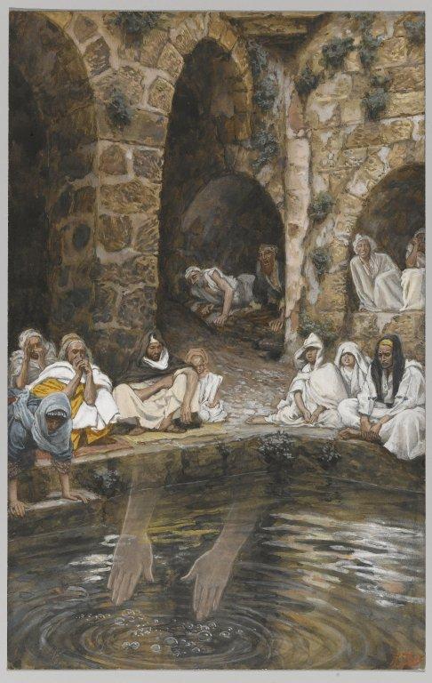 File piscina probatica or pool of bethesda the for Piscine de bethesda