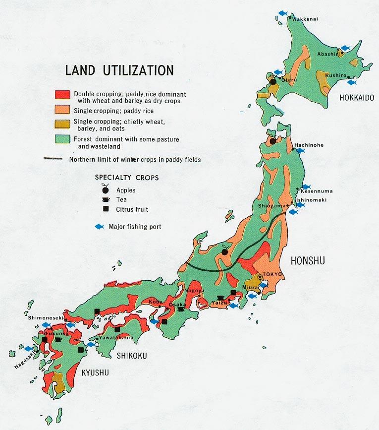 FileJapan Land Utilization Map Jpg The Work Of Gods Children - Japan map jpg