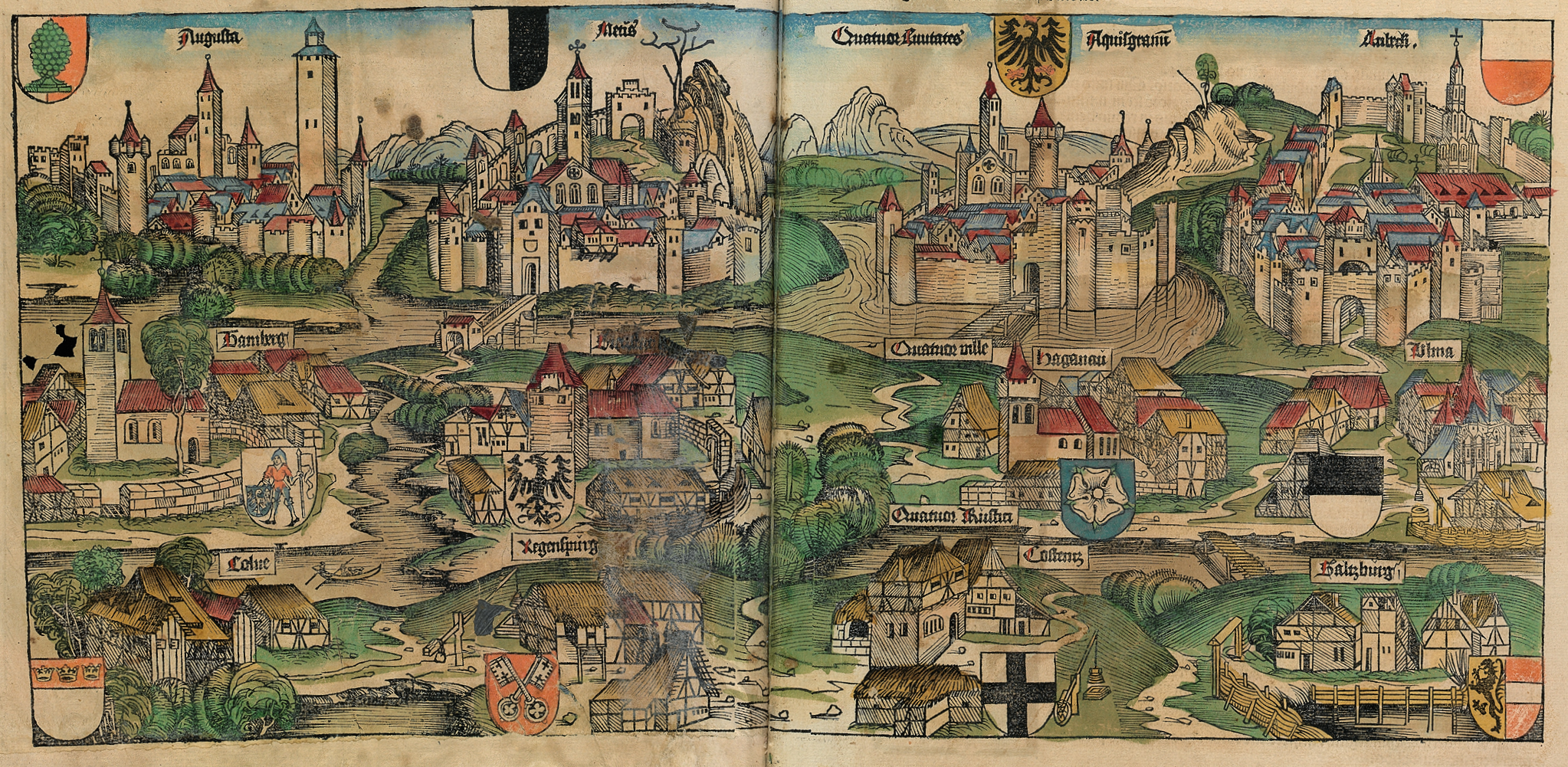 File:Nuremberg chronicles - Kingdoms Holy Roman Empire png