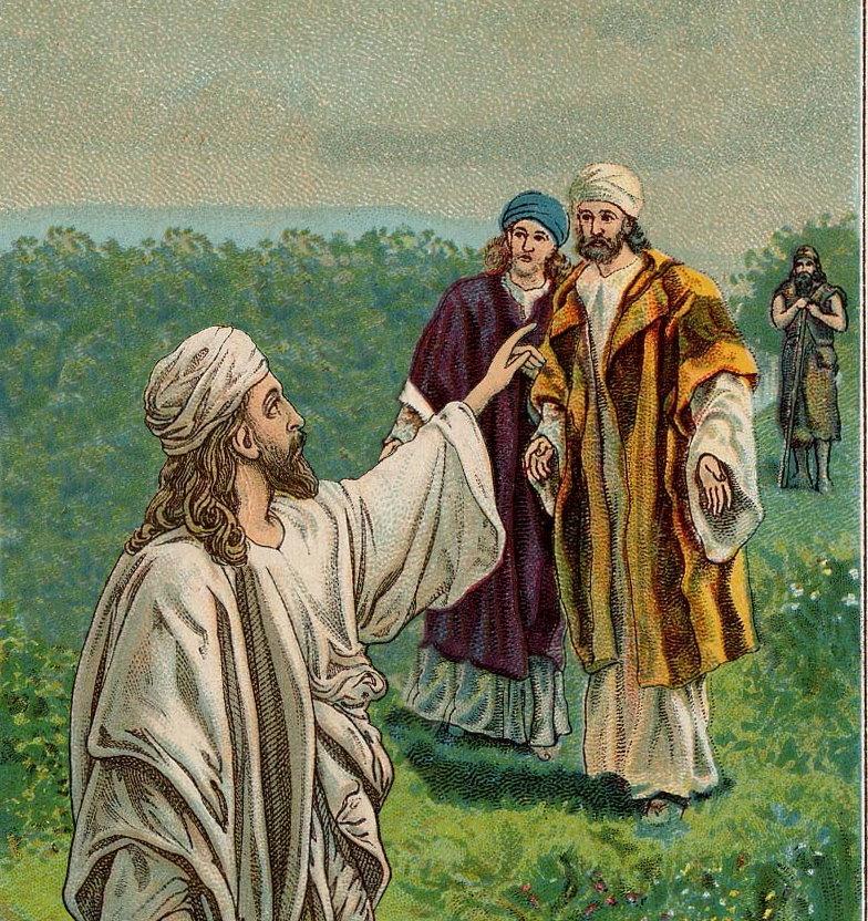 Jesus Rebukes James and John