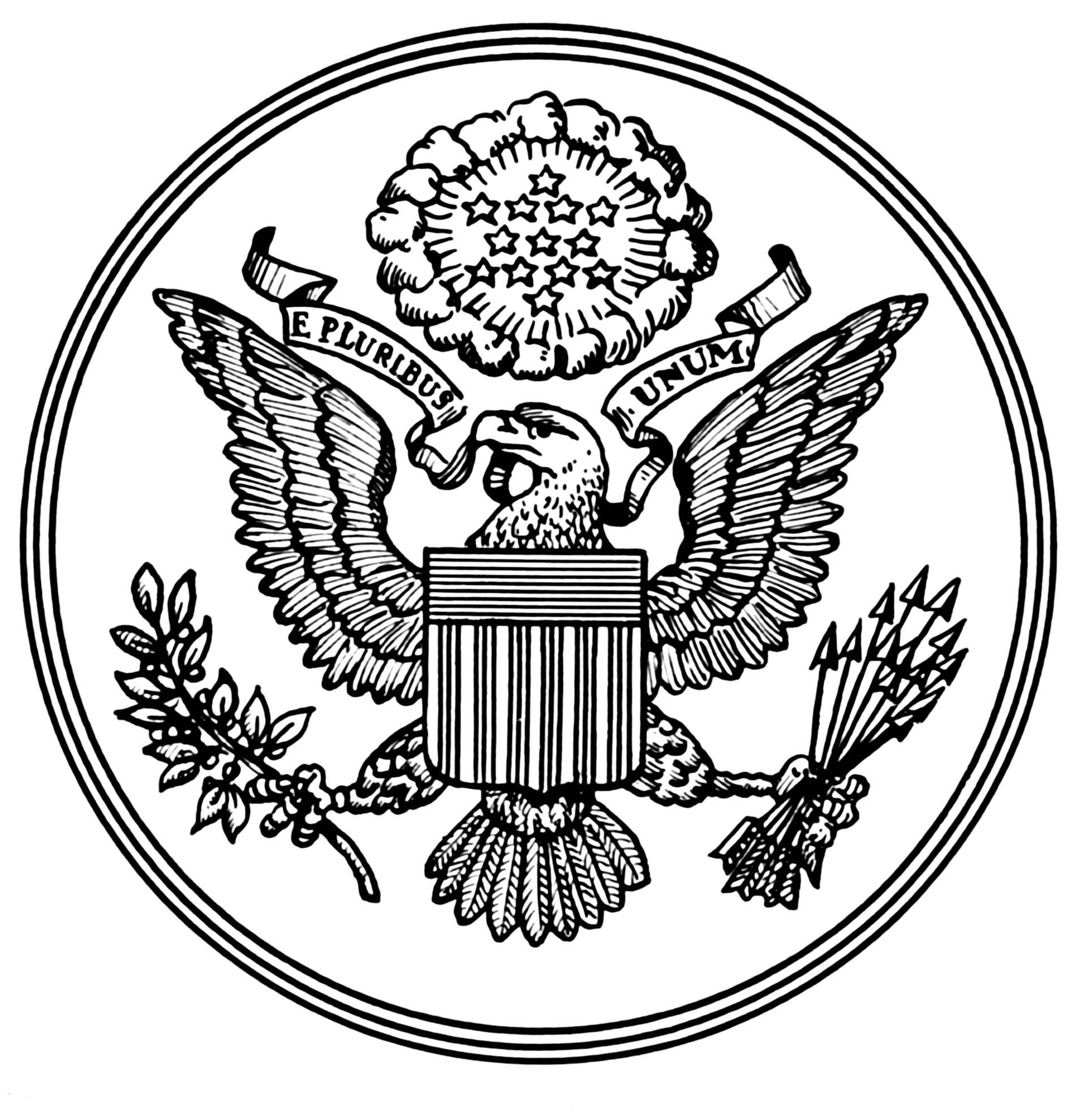State Seals Coloring Pages Coloring Pages of Great Seal
