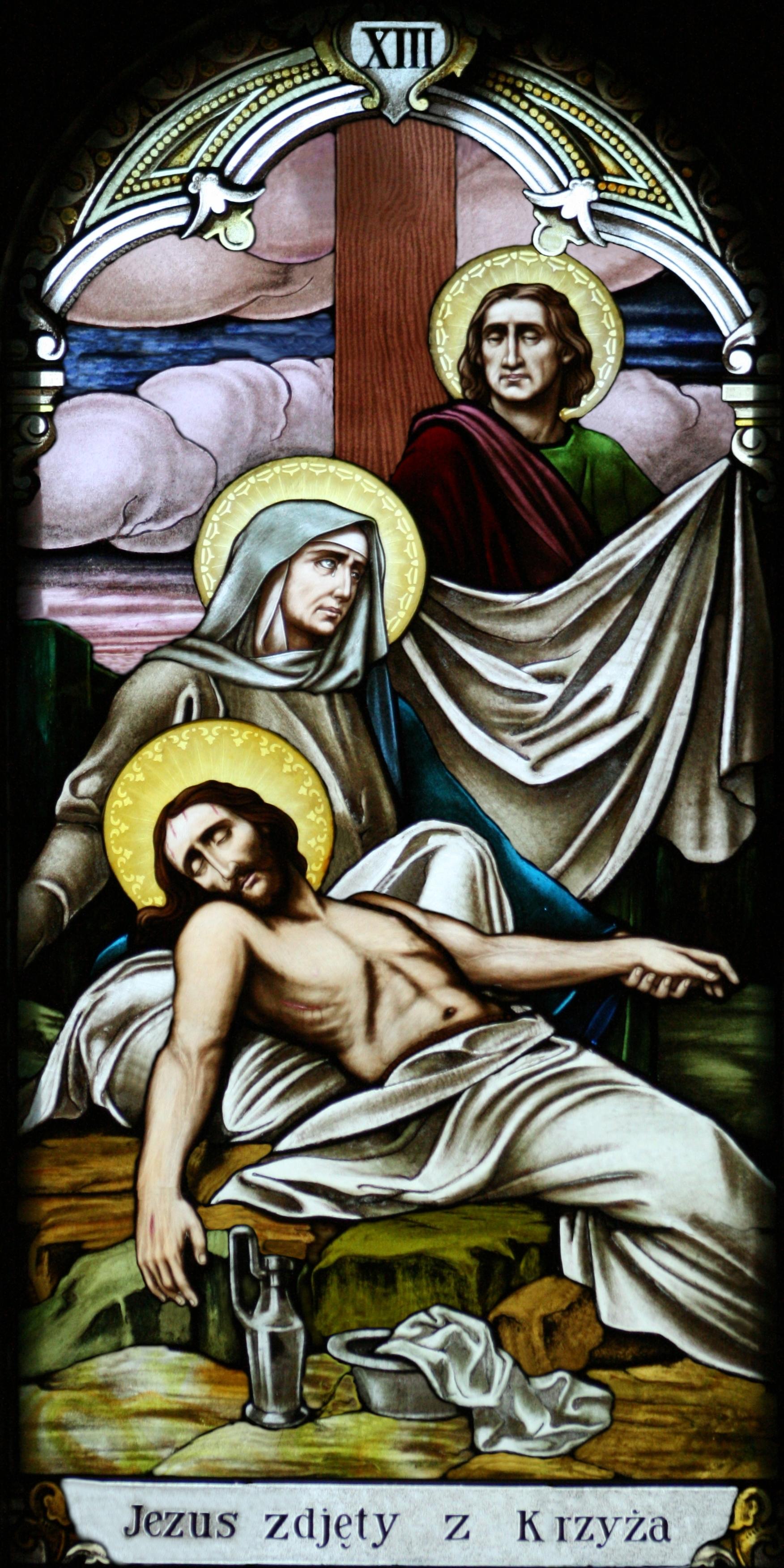 File:Station 13 - Jesus is Taken Down From His Cross.jpg