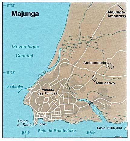FileMadagascar Majunga Map 1976jpg The Work of Gods Children