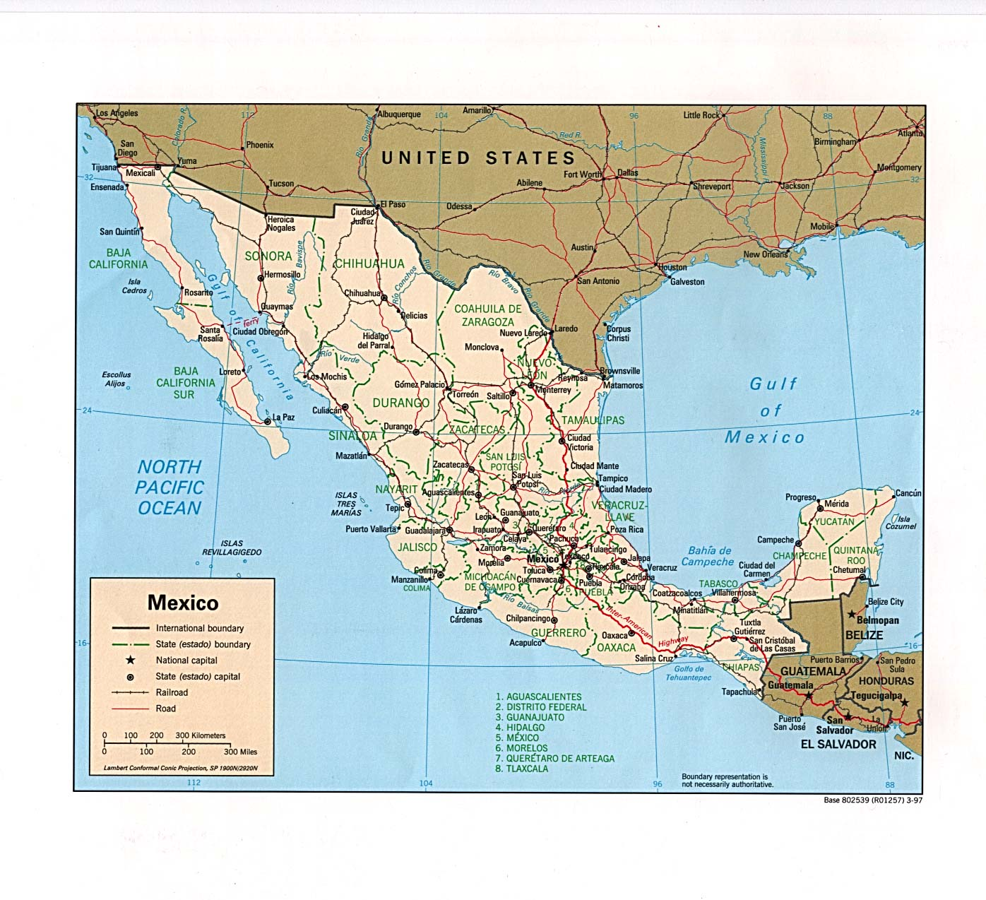 FileMexico Political Map Jpg The Work Of Gods Children - Mexico political map
