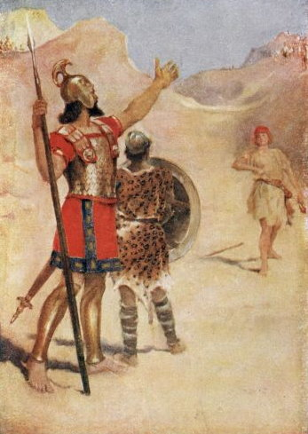 File:David and Goliath.jpg - The Work of God's Children