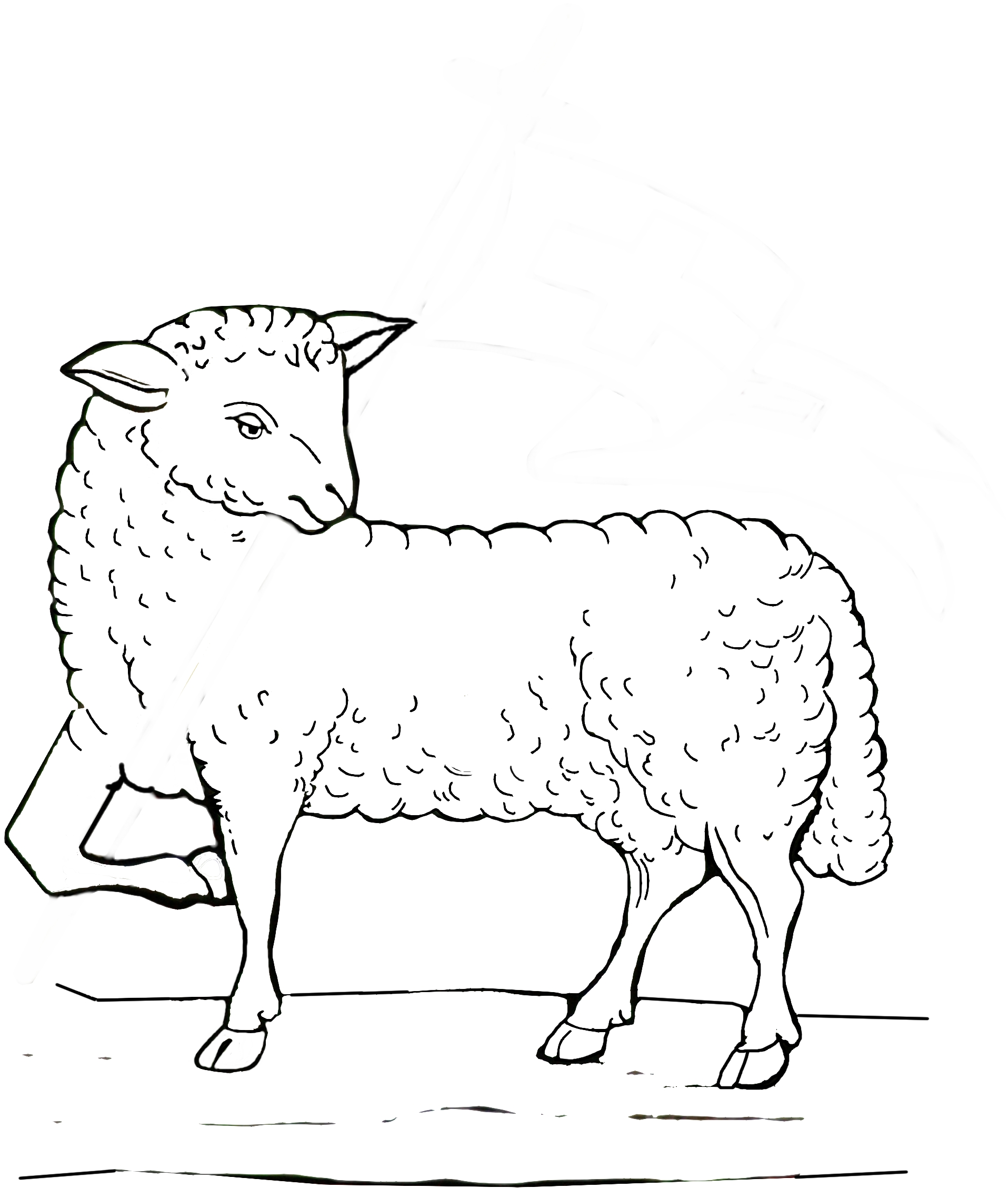 Free lamb of god coloring pages for Lamb of god coloring page