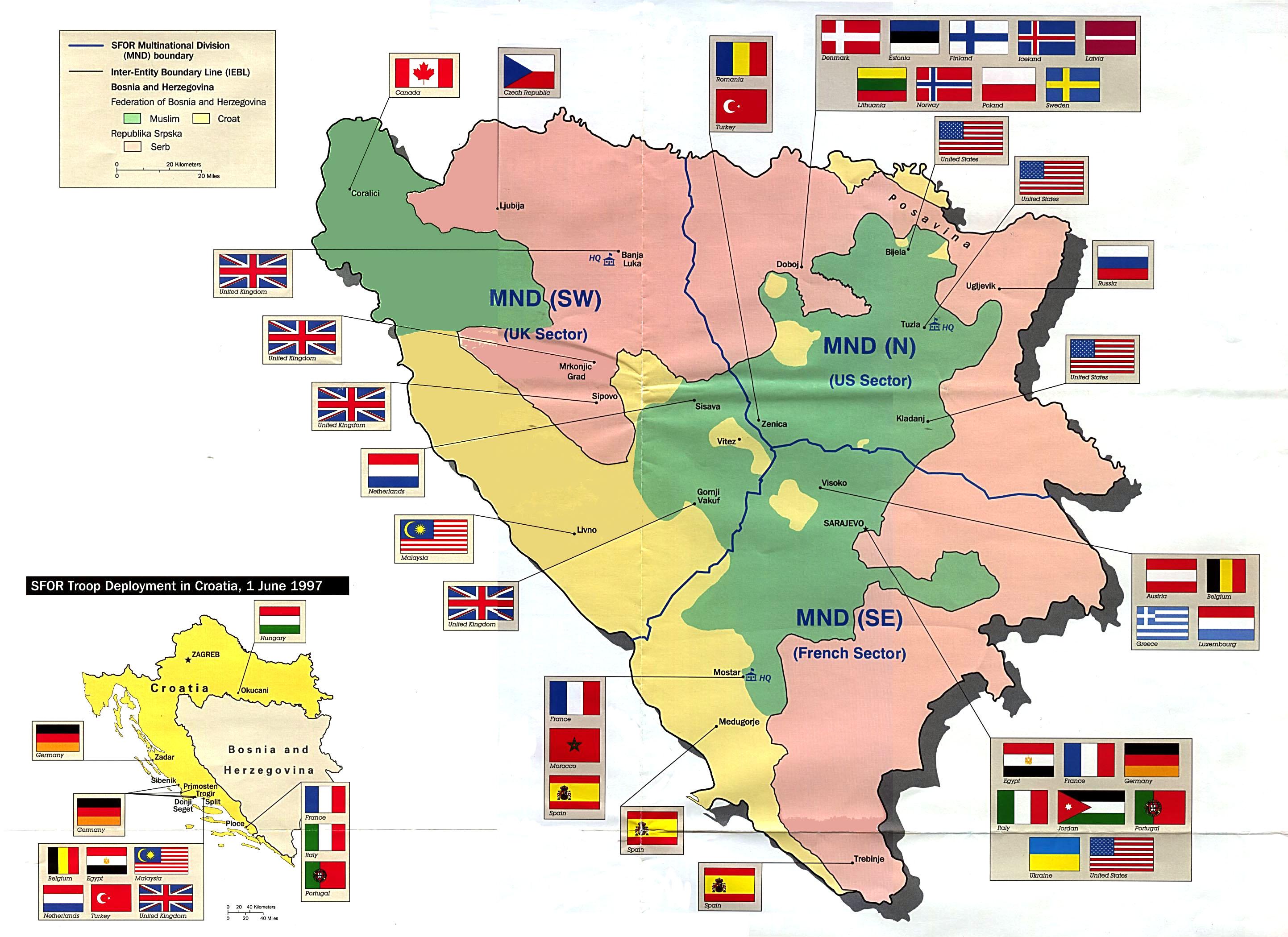 FileBosnia And Herzegovina Troop Deployment Map Jpg The - Bosnia and herzegovina map
