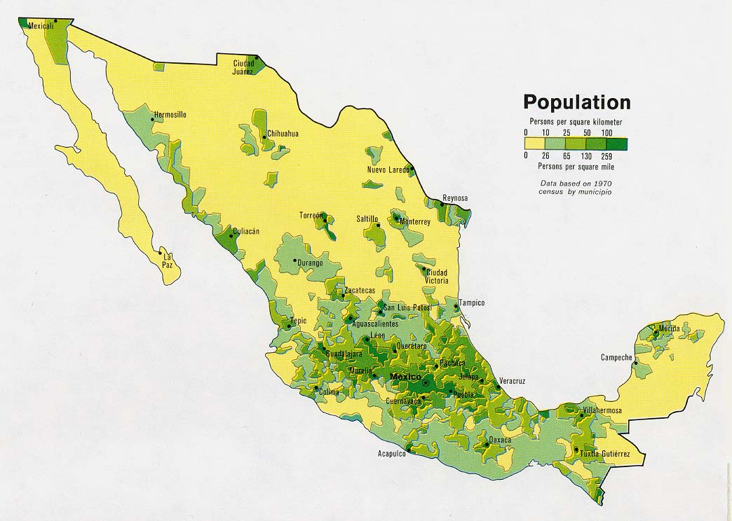 population in mexico city Mexico from the world bank: data graph, map and compare more than 1,000 time series indicators from the world development indicators.