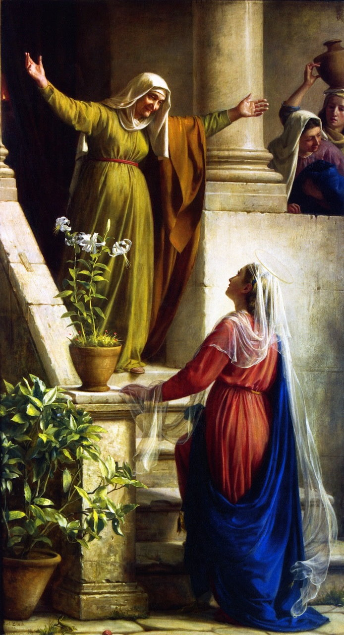 Filevisitation The Meeting Of Mary And Elizabeth Carl Heinrich