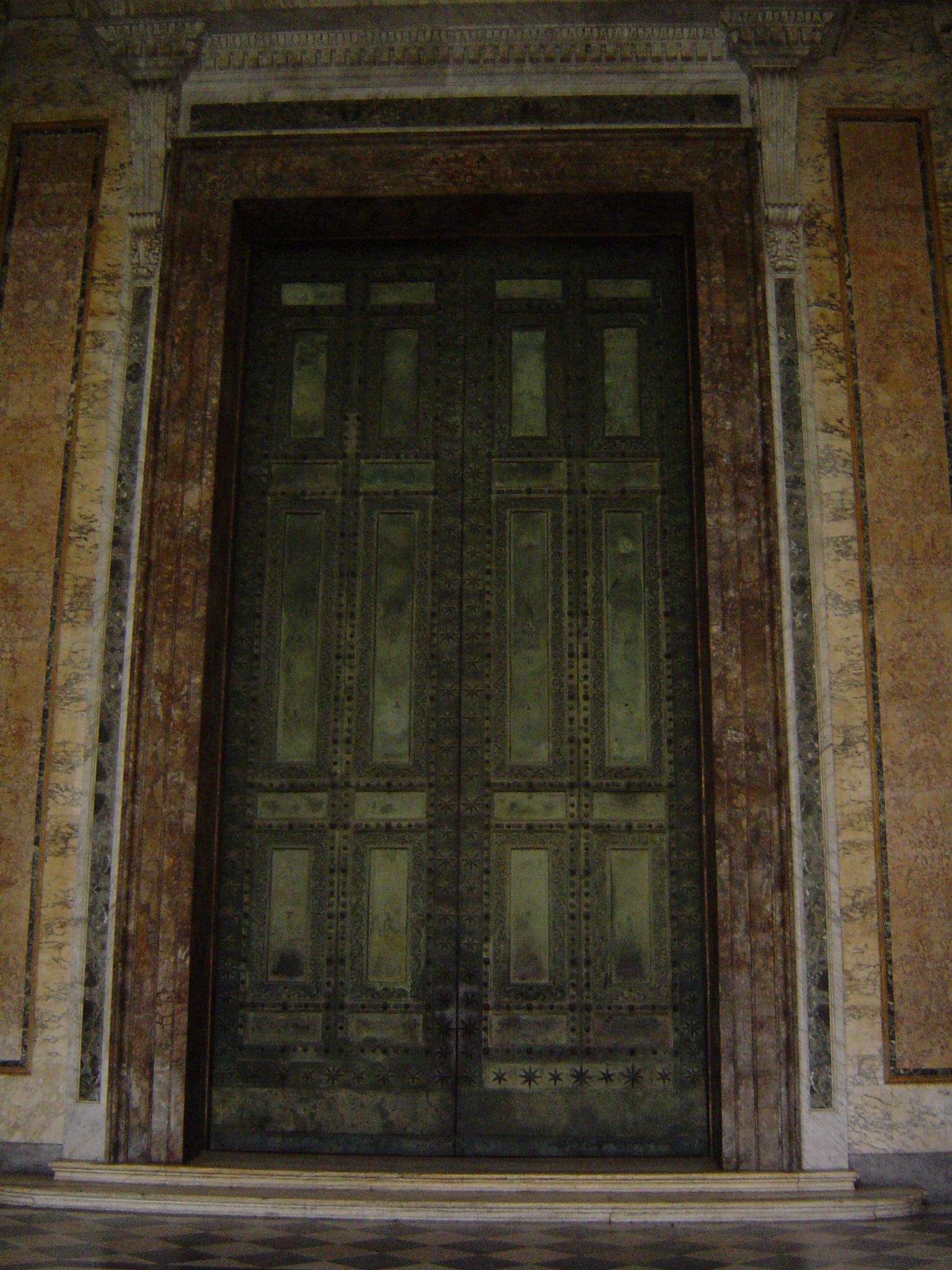 File:Doors of Curia Julia - Basilica of Saint John Lateran.JPG & File:Doors of Curia Julia - Basilica of Saint John Lateran.JPG ... Pezcame.Com
