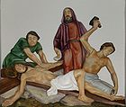 Jesus is nailed to the Cross 004.jpg