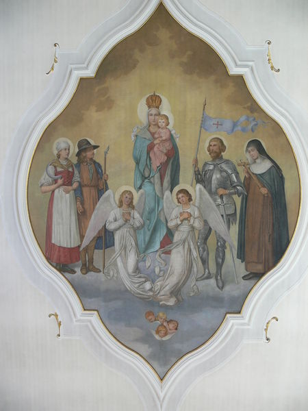 File:Jesus and Mary - Wolpertswende St Gangolf Deckengemalde Maria.JPG