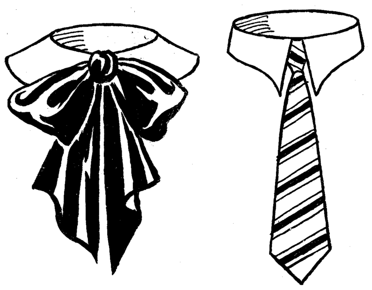 Image Gallery necktie drawing
