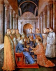 Pope Sixtus II Consecrates Saint Lawrence as Deacon-Fra Angelico.jpg