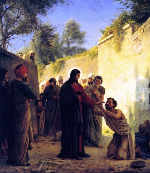 File Jesus Heals The Blind Man Jpg The Work Of God S