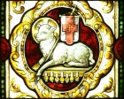 LA Cathedral Mausoleum Lamb of God A.jpg