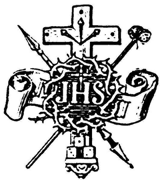 Filecross And Crown Of Thorns And Jhs Symbol 004g The Work Of