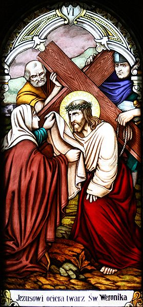 File:Station 6 - Veronica Wipes the Face of Jesus.jpg