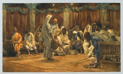 The Washing of the Feet at the Last Supper(Le lavement des pieds)John 13:2-20