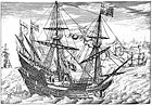 An Elizabethan Galleon and Rowboat.jpg