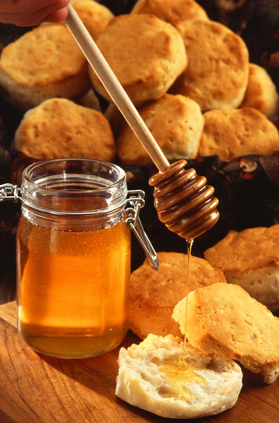 File:Honey dripping from a honey dipper 001.jpg