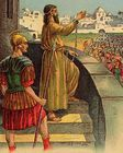 Paul arrested by the Romans - Acts 22 25.jpg