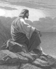 Jesus Prays on a Mountain by the Sea.jpg
