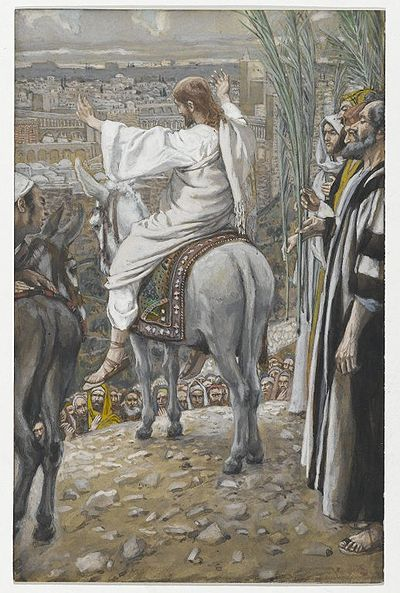 The Lord Wept Over Jerusalem(Le Seigneur pleura)Luke 19:41-44