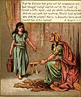 Maid Explains how Naaman Can be Cured to Naaman's Wife 001.jpg