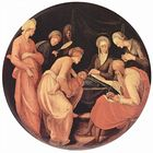 Nativity of Saint John the Baptist based on Jacopo Pontormo 031.jpg