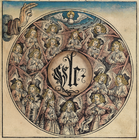 The Hand of God The Holy Spirit and the Angels - Nuremberg chronicles - f 2r.png