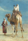 Carl Haag Bedouin Family on Camel 1859.jpg